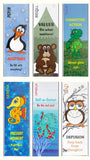 Mindful Explorer Bookmarks (5 of each Explorer, 30 Total)