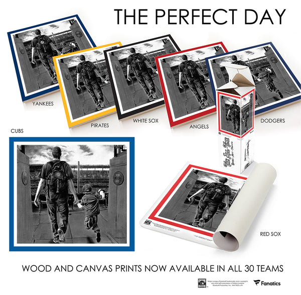 PERFECT DAY BRAVES - Canvas
