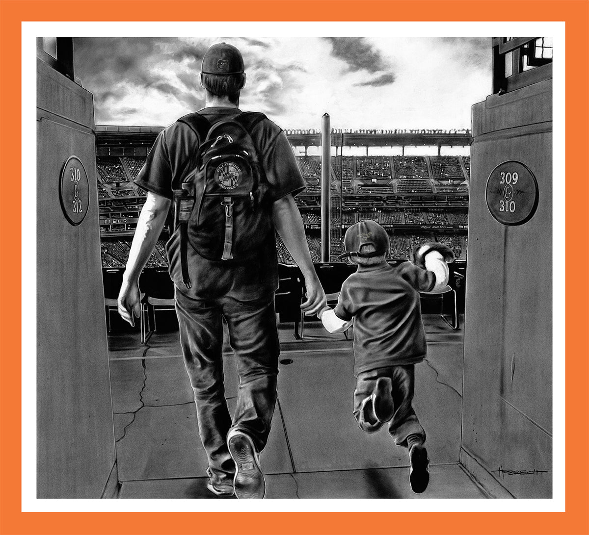 PERFECT DAY ORIOLES - Canvas