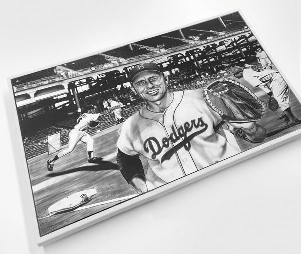 The All-Time Dodgers Gil Hodges Wood Print