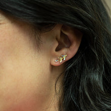Load image into Gallery viewer, 14k Gold Branch Ear Climber Earrings