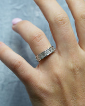 Load image into Gallery viewer, Baguette & Princess Cut Diamond Band