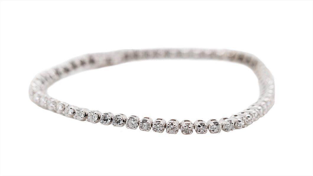 Round Diamond Tennis Bracelet