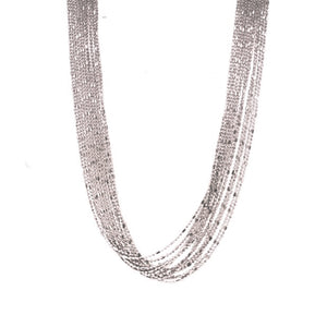SS Multi-Strand Bead Necklace
