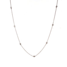 "Load image into Gallery viewer, ""Diamonds By Yard"" Necklace"