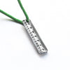 Silver Miniature Ruler Charm, Greek Pendant DIY Back to School Jewelry Craft Supplies
