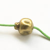 Pomegranate Antique Bronze Bead, DIY jewelry making craft supplies, Good Luck fertility charm