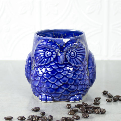 Cute Owl Mug - Choose Your Color