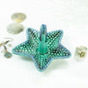Emerald Green Starfish Ring Holder