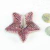 Dark Pink Starfish Ring Holder