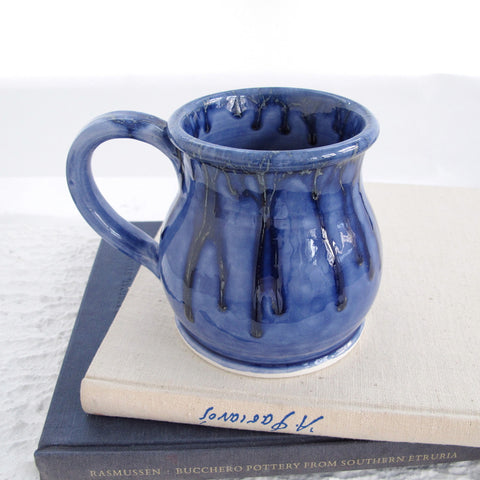 Light Sea Blue Ceramic Coffee Mug