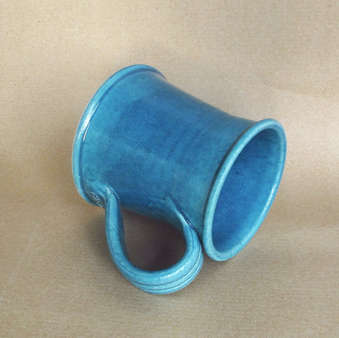 Large 16 oz Denim Blue coffee mug