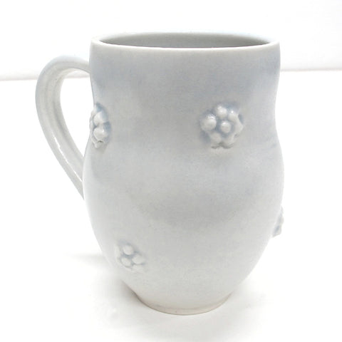 White Ceramic Porcelain Coffee Mug