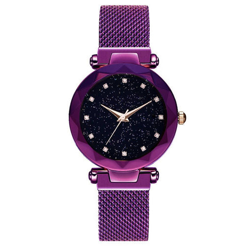 Diamond Purple Watch