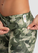 "Newborn High Waist Yoga Leggings 25"" — Jungle"