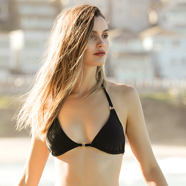 Slide Triangle Bikini Top