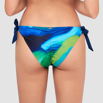 Side Tie Bikini Bottom — AXESEA x Nine Cats