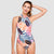 Endless Party One Piece Swimsuit — Rainforest - AXESEA
