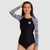 AXESEA Women Long Sleeve UPF 50 Rash Guard — Mystery
