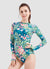 Venus Long Sleeve One Piece Swimsuit — Barbra x AXESEA