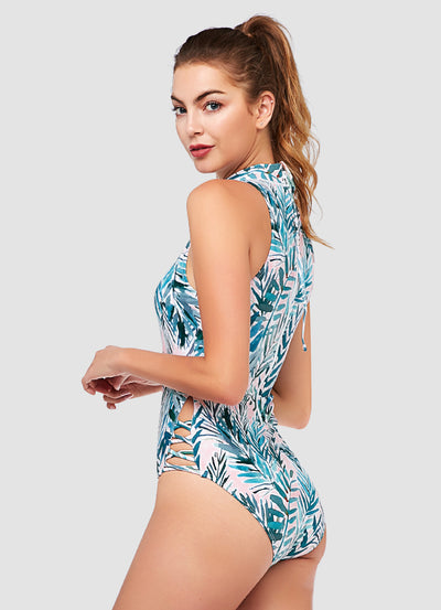 Endless Party One Piece Swimsuit — Barbra x AXESEA