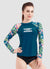 Women Long Sleeve UPF 50 Rash Guard — Barbra Ignatiev x AXESEA