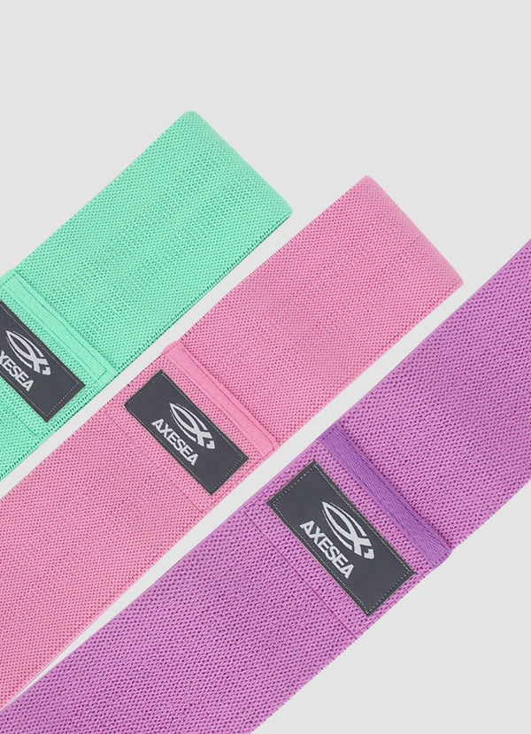 Non-Slip Fabric Glute Bands Set