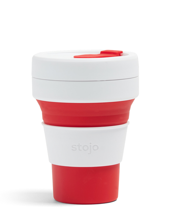 Stojo Pocket - Red