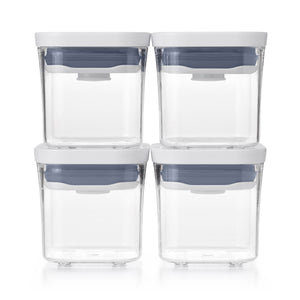 GG POP 2.0 4 PIECE MINI SQUARE SET -  (0.2 QT/ 0.2 L)