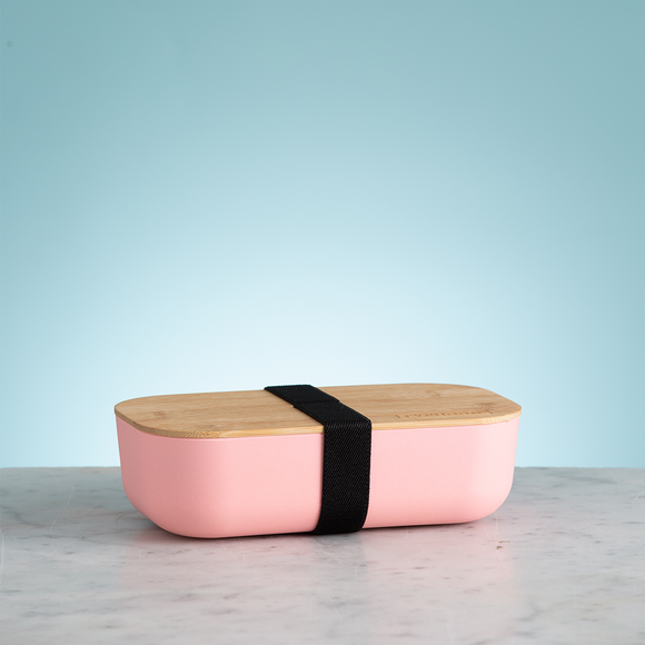 TYPHOON ~ PURE PINK BAMBOO FIBRE LUNCH BOX