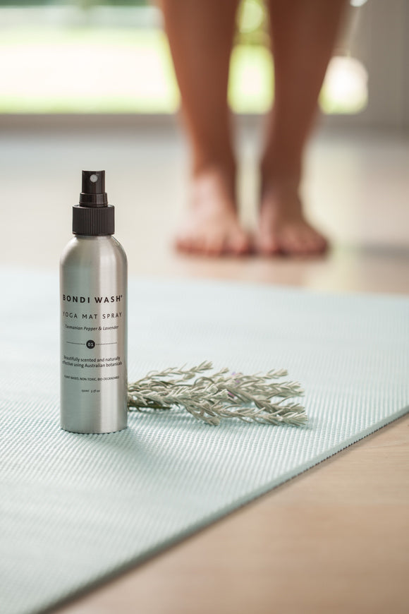 Bondi Wash - Yoga Mat Spray Lemon Tea Tree & Mandarin 150ml