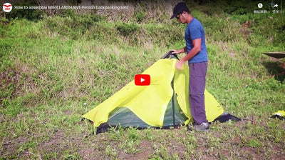 How to Assemble MIER LANSHAN 1-2 Person Backpacking Tent