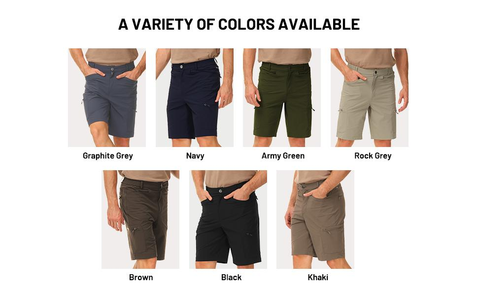 Men's Sideral Breezy Hiking Shorts with 6 Pockets