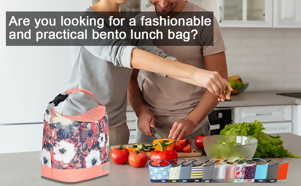 Small Cute Insulated Lunch Bag