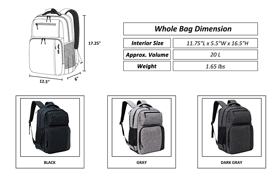 Cooler Backpack with Laptop Compartment