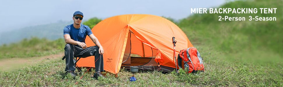 MIER 2-Person Camping Tent