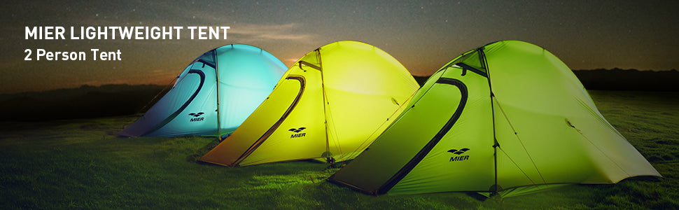 MIER 2 Person Camping Tent