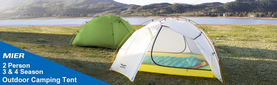 MIER 2 Person Outdoor Camping Tent