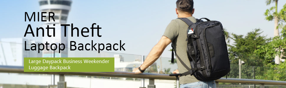 MIER Expandable Travel Backpack