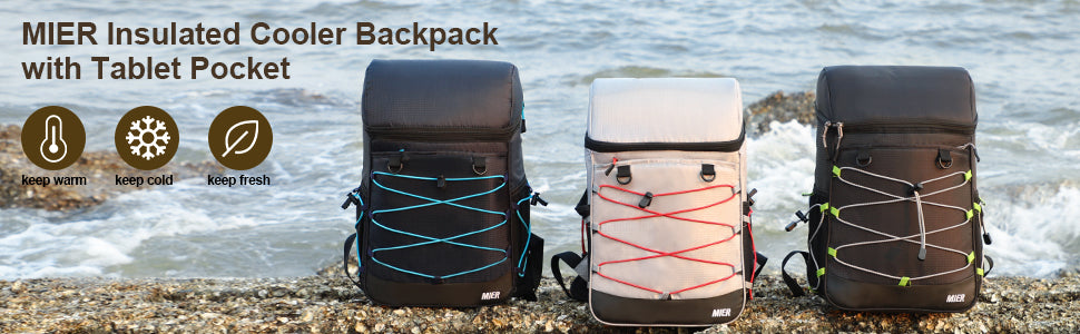 MIER Insulated Backpack Cooler