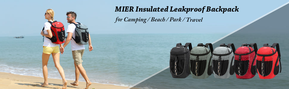 MIER Leakproof Backpack Cooler