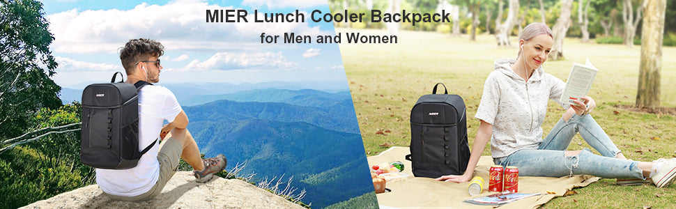 MIER Leakproof Insulated Backpack