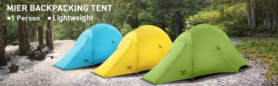 MIER Lightweight 1-Person Tent