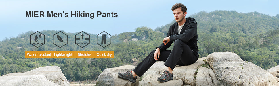 MIER Men's Hiking Pants