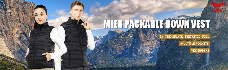 MIER Men's Insulated Vest