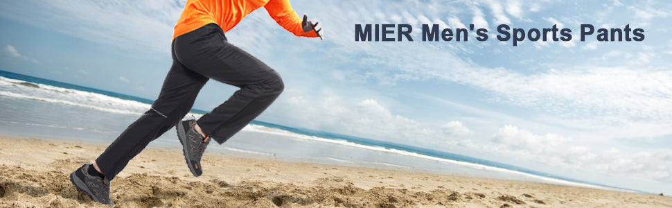 MIER Men's Sports Pants Warm Up Pants