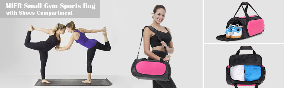 MIER Small Gym Sports Bag