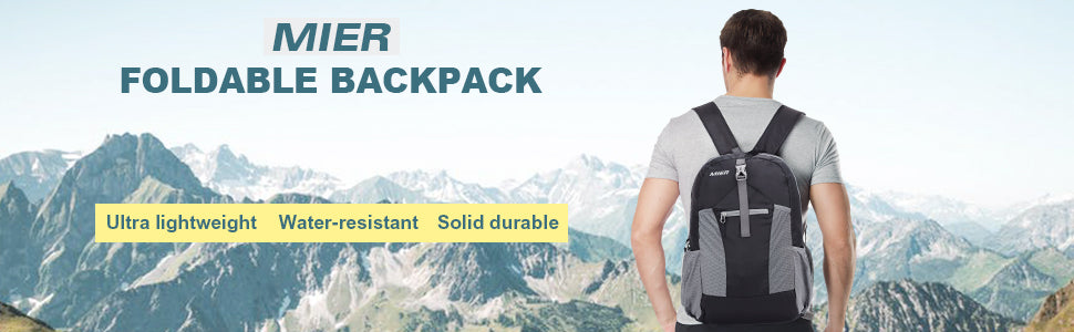 MIER Ultralight Packable Backpack