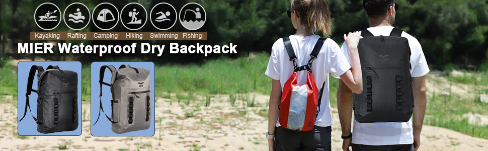 MIER Waterproof Backpack