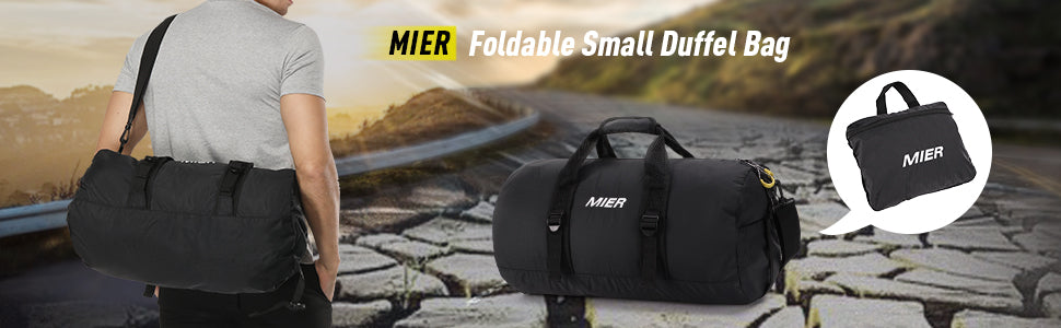 MIER Foldable Duffel Bag